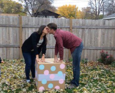 Pais Têm Enorme Deceção Ao Abrirem o Caixote Que Revela o Sexo Do Bebé 2