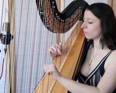 Talentosa Jovem Faz Incrível Versão De Um Clássico Ao Tocar Harpa 2