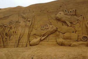 Muitas Horas De Trabalho Foram Necessárias Para Criar Esta Gigantesca Escultura De Areia 10