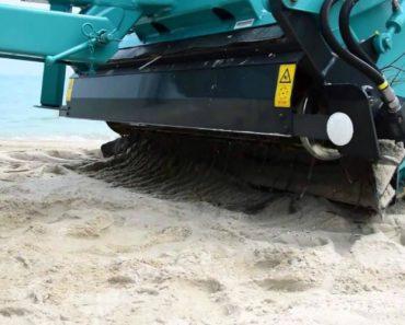 Potente Máquina Consegue Separar Os Resíduos Da Areia Deixando Qualquer Praia Livre De Lixo 6