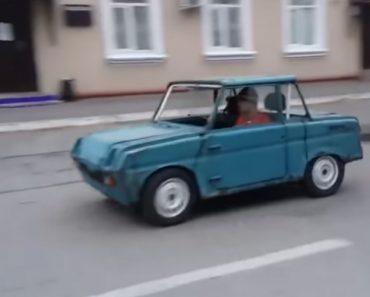 Jovem Russo Coloca Potente Motor De Uma Honda CB1100 Num Carro Antigo Da Ex. URSS 1