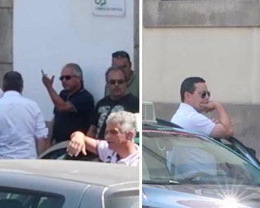 Jovem Foi Pedir Um UBER Aos Taxistas Em Protesto No Porto 1