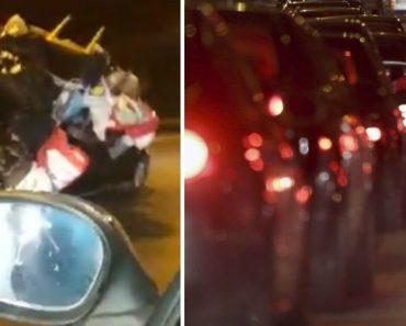 """Carro Com a """"Casa Às Costas"""" Filmado Na Segunda Circular Em Lisboa 1"""