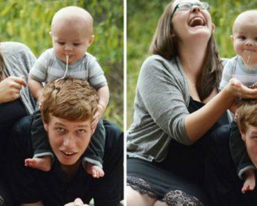 12 Bebés Que Arruinaram As Fotos Com Os Seus Pais 4