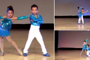 Crianças Fazem Extraordinária Atuação Ao Dançarem Salsa 9