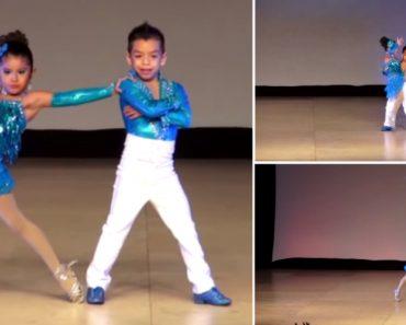 Crianças Fazem Extraordinária Atuação Ao Dançarem Salsa 1