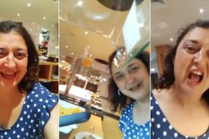 Madalena Menezes Faz Video Enquanto Janta Num Hotel De Luxo Pago Pela TVI 10