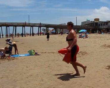 Um Nadador-Salvador Que Não Vai Querer Encontrar Em Caso De Aflição 5