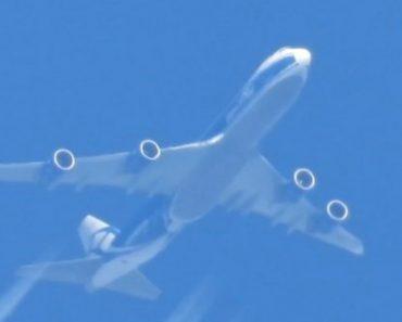 Fotógrafo Mostra Como o Zoom Da Sua Máquina é Eficaz Ao Filmar Avião a 10.000 Metros De Distância 6