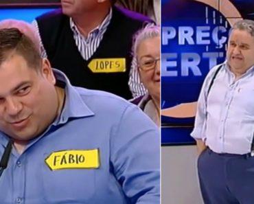 Fernando Mendes Goza Com Concorrente Obeso e é Criticado Nas Redes Sociais 3