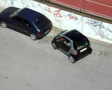 A Dificuldade Em Estacionar... Um Smart! 5