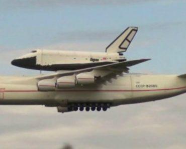 Veja o Maior Avião Remotamente Controlado Em Ação Enquanto Transporta Outra Aeronave 6