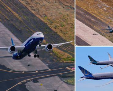 Impressionante Decolagem a Quase 90 Graus De Um Boeing 737 Max e Um 787-10 6