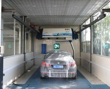 Um Sistema De Lavagem Automática Que Não Precisa De Rolos Para Deixar Os Carros Limpos 8
