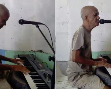 """Com Apenas Um Órgão e o Seu Talento Musical, Filipino Interpreta Tears In Heaven"""" De Eric Clapton 4"""