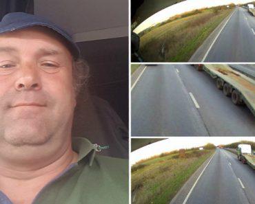 Heroico Camionista Salva Condutor Inconsciente Que Tinha Sofrido AVC Na Estrada 9