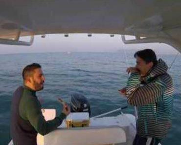 Inexperientes Pescadores Subestimam a Capacidade De Fuga De Um Polvo 2