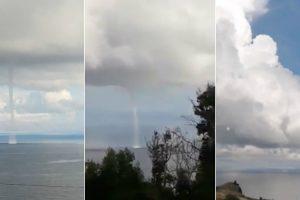 Tromba De Água Junto à Costa Na Madeira Deixa População Assustada 9