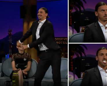 """Zlatan Ibrahimovic Dá Show Fora Das Quatro Linhas Ao Dançar """"Floss"""" Em Programa De Televisão 1"""