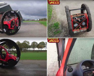 Holandês Transforma Ford Ka Num Alucinante Parque De Diversões 4