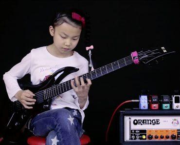 Esta Menina De 10 Anos é Um Verdadeiro Prodígio Da Guitarra 3