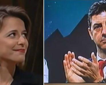"""""""Quem é?"""", Pergunta a Benfiquista Leonor Poeiras Ao Ver Rui Vitória 4"""