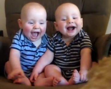 Bebés Não Conseguem Parar De Rir Ao Estarem Sentados Em Cima De Plataforma Vibratória 9