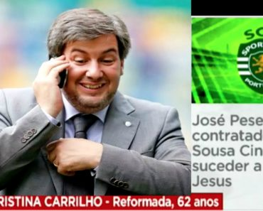 Bruno de Carvalho Fez-se Passar Por Velhinha Reformada Na SIC Notícias? 2