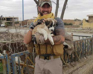 Militar Reencontra-se Com Cadela Que Salvou Durante Guerra Na Síria 3