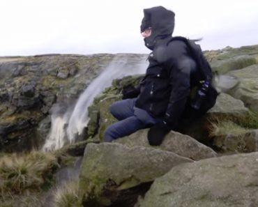 Força Do Vento Inverte Sentido Da Água De Uma Cascata 9