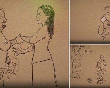 Ex-Ilustrador Da Disney Homenageia a Sua Falecida Esposa Com Vídeo Emocionante 7