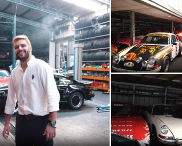 Visita Guiada a Garagem Em Portugal Com Carros De Valor Incalculável 2