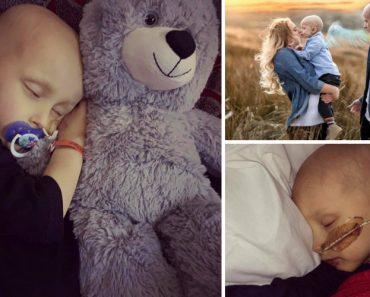 Menino Pede Desculpa à Mãe Antes De Morrer Vítima De Cancro 6