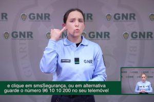 GNR Lança Serviço De Emergência Para As Pessoas Surdas 10