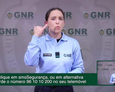 GNR Lança Serviço De Emergência Para As Pessoas Surdas 9