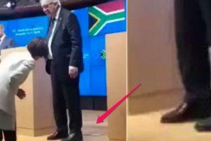 Juncker Abandona Conferência De Imprensa Ao Perceber Que Tem Um Sapato De Cada Cor 10