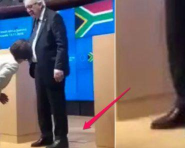 Juncker Abandona Conferência De Imprensa Ao Perceber Que Tem Um Sapato De Cada Cor 6