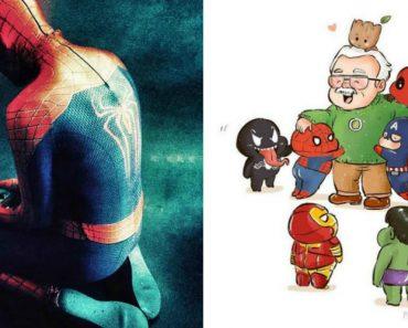 As Homenagens Mais Emocionantes Feitas a Stan Lee... o Falecido Criador Dos Super-Heróis! 1