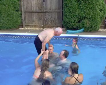Avô De 79 Anos Realiza o Sonho De Fazer Um Backflip Na Piscina 2