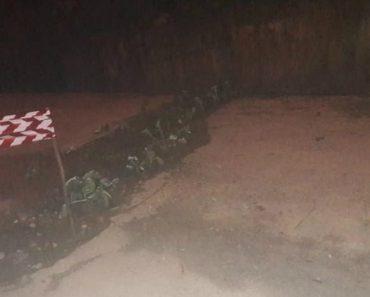 População De Castelo De Paiva Aproveita Os Buracos Na Estrada Para Plantar Couves 4