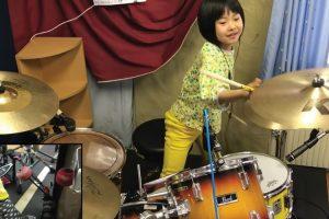Menina De 8 Anos Impressiona a Tocar Led Zeppelin Na Bateria 9