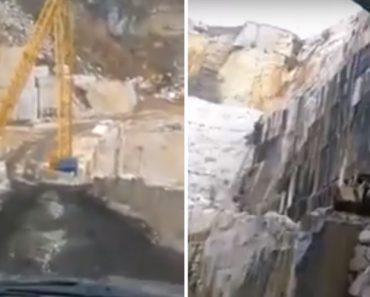 Vídeo Mostra Estrada Junto a Pedreira e Faz População Temer Outra Tragédia 4