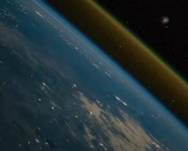 Vídeo Feito No Espaço Mostra Momento Em Que Nave Deixa a Terra 3