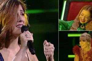"""Diana Castro canta e encanta com a música """"Ouvi Dizer"""" no The Voice Portugal 9"""