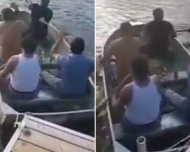Grupo De Amigos Com Uns Copitos a Mais Não Entendem Porque Barco Não Avança 7
