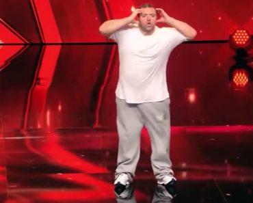 """""""Gordito"""" Subiu Ao Palco Para Dançar… Mas Ninguém Esperava Ver Algo Deste Género 2"""