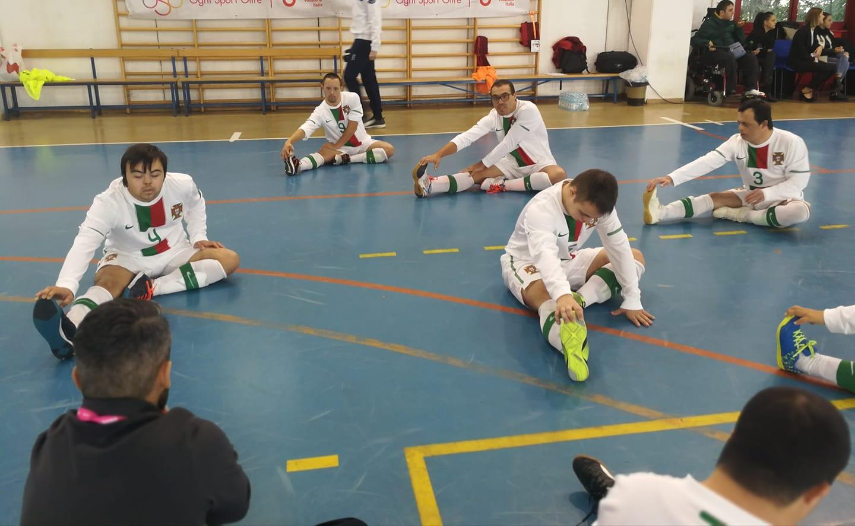 Portugal Sagra-se Campeão Europeu De Futsal Para Atletas Com ... 985d1a0247961