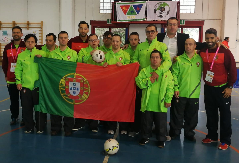 Seleção Portuguesa de Síndrome de Down Derrota Campeões Do
