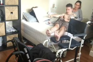 Assim é a Rotina Matinal De Um Jovem Tetraplégico 10