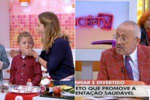 Menino De 5 Anos Cala Manuel Luís Goucha Em 2 Segundos 8